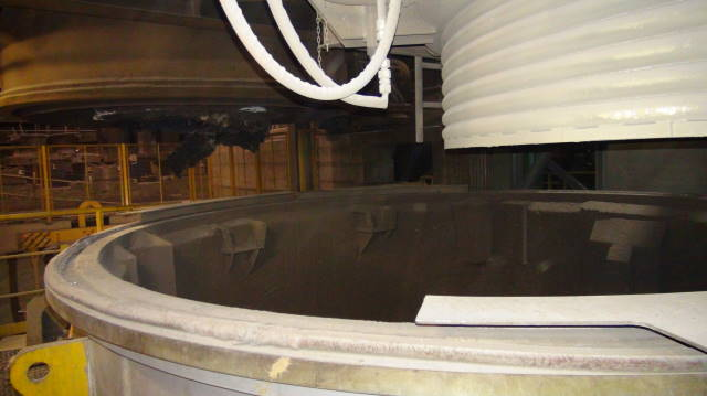 Vacuum Oxygen Decarburization chambers